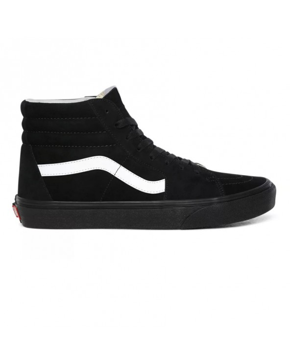 Vans Sk8-hi Shoes - (Pig Suede) Black/Black