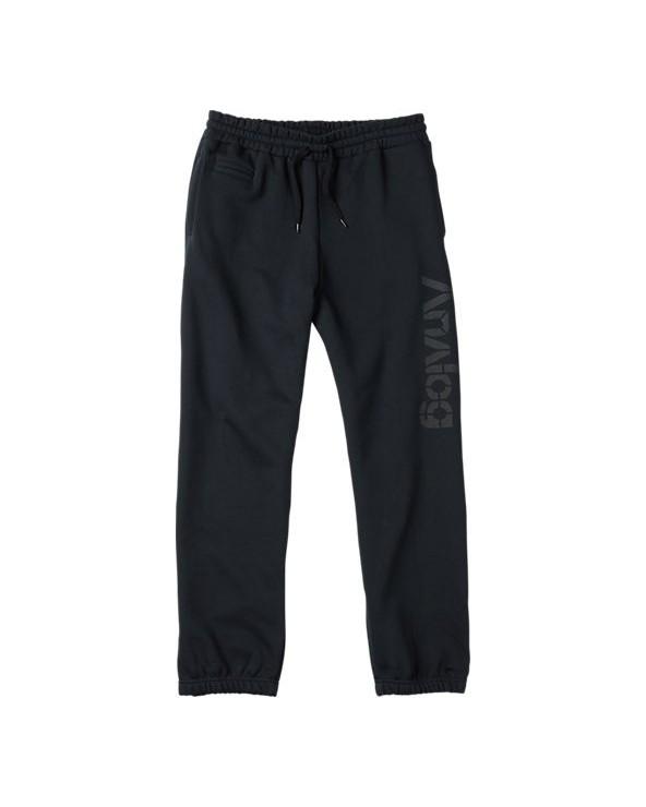 Analog Company Fleece Pant - Black
