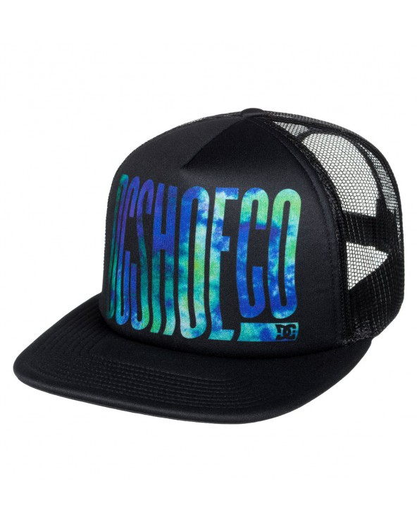 Dc Trippy Trucker Hat - Black (kvj0)