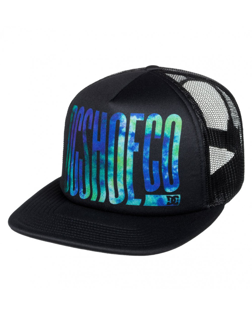 Dc Trippy Trucker Hat - Black (kvj0)