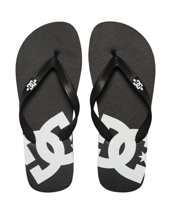 Dc Spray Sandals - Black/Black/White (blw)
