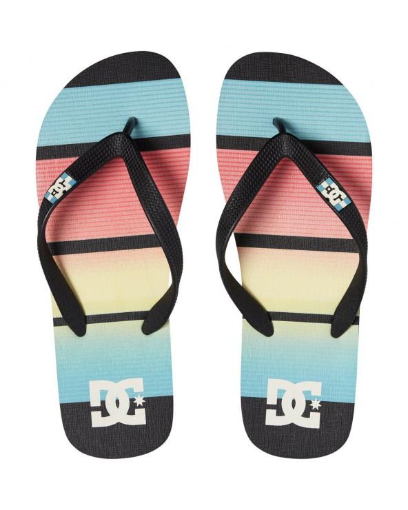 DC Spray Graffik Sandals - Black/Multi (bmu)