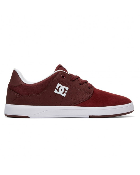 Dc Plaza TC S Skate Shoes - Maroon (mar)