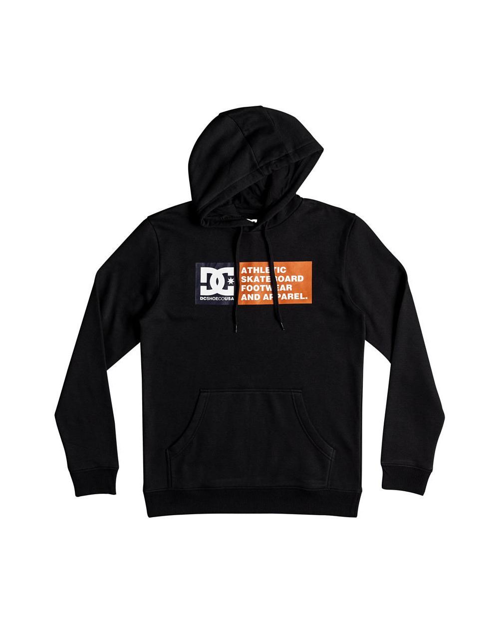 Dc Vertical Zone Hoodie - Black (kvj0)