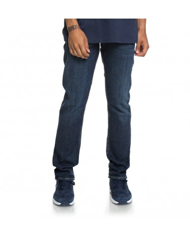 Dc Worker Straight Fit Jeans SMS - Medium Stone (bntw)