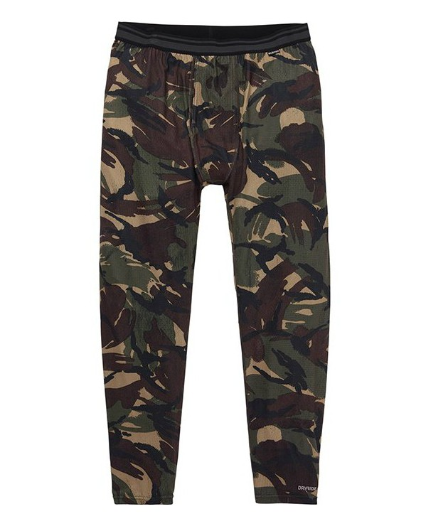 Burton Midweight Base Layer Pant - Seersucker Camo
