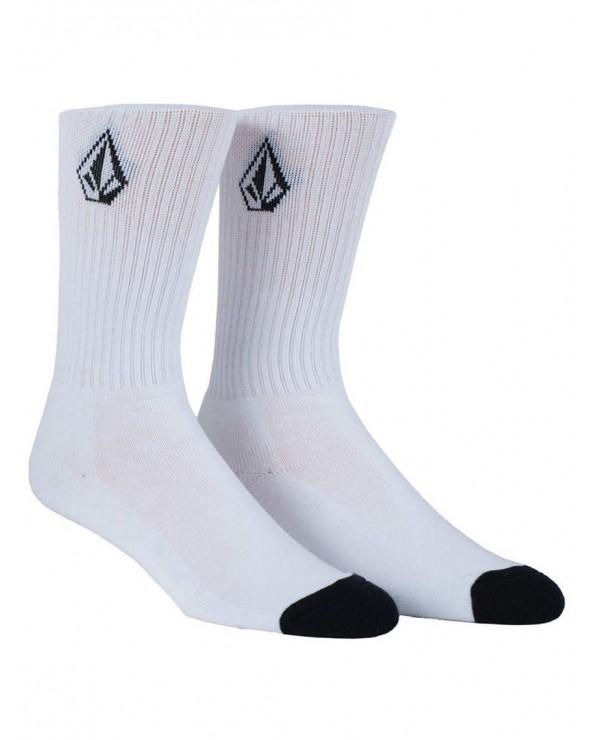 Volcom Full Stone Socks. - White