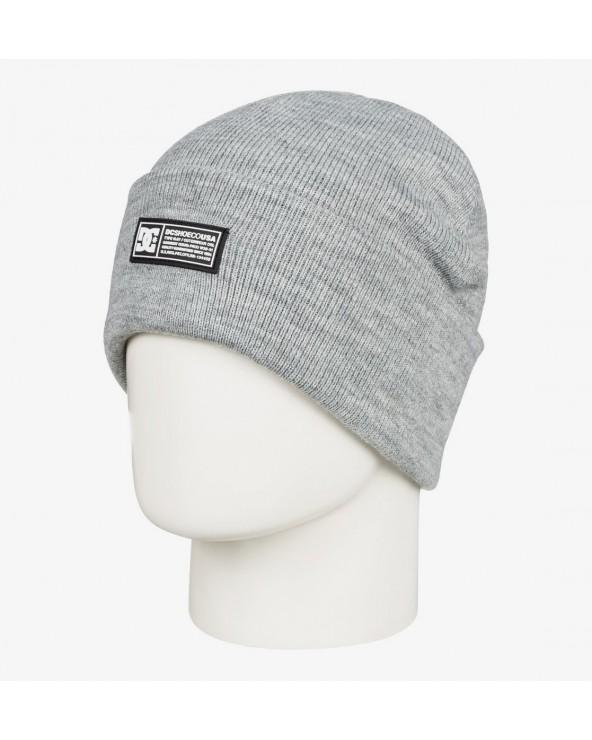 Dc Label Cuff Beanie - Forest Gray