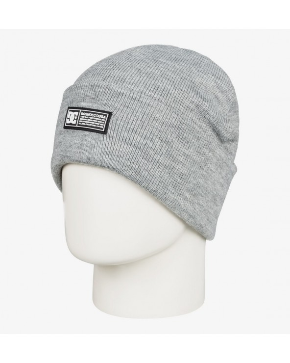 Dc Label Cuff Beanie - Forest Gray