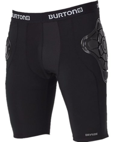 Burton Women's Total Impact Short, Protected By G-Form™ - True Black