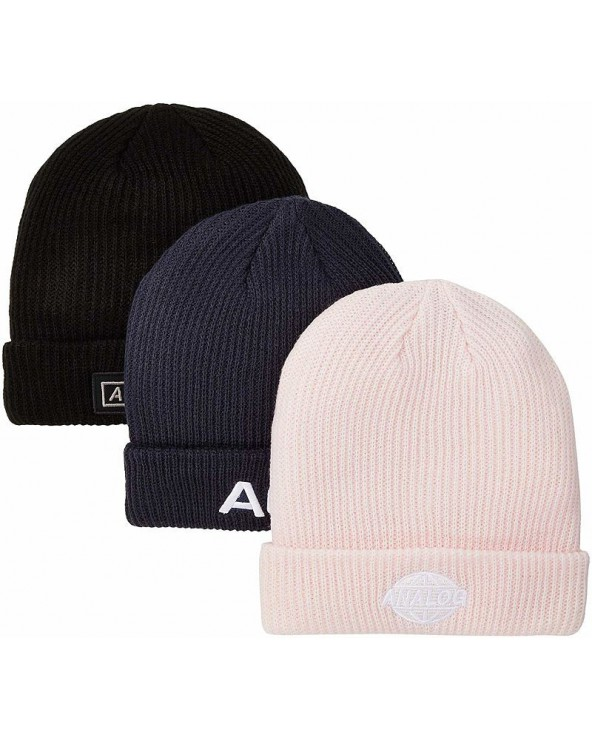 Analog Beanie 3-Pack - True Black / Mood Indigo / Crystal