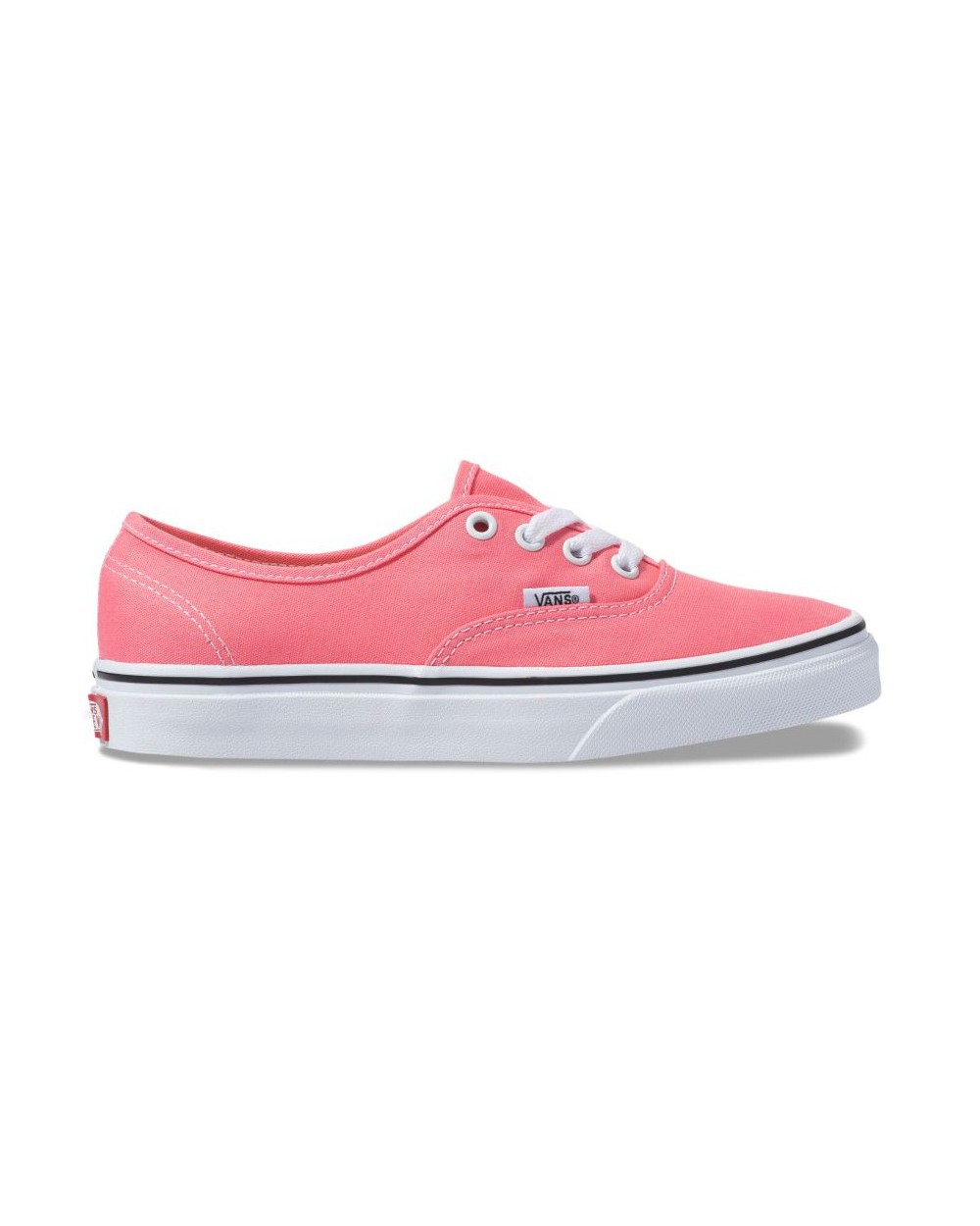 Vans Authentic Shoes - Strawberry Pink / True White