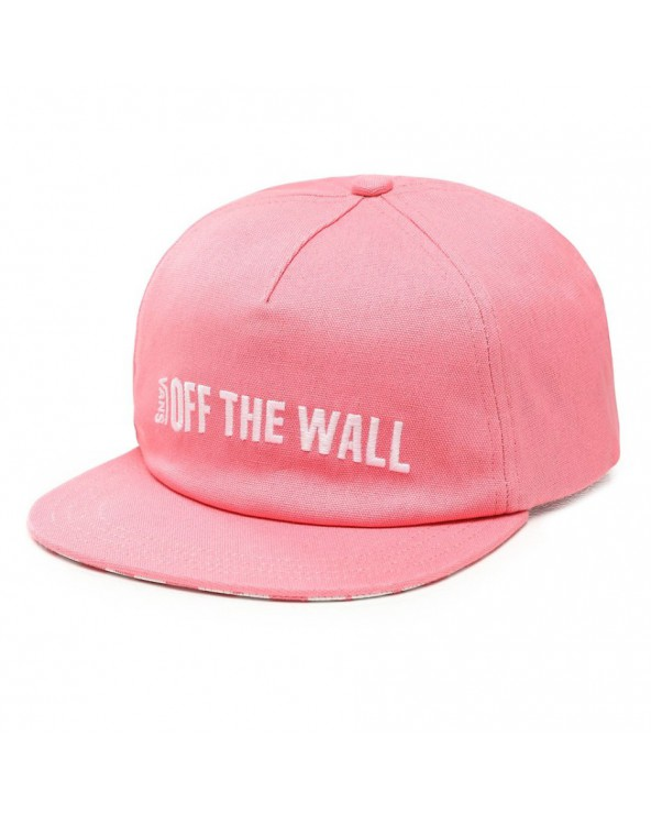 Vans Central Hat - Strawberry Pink
