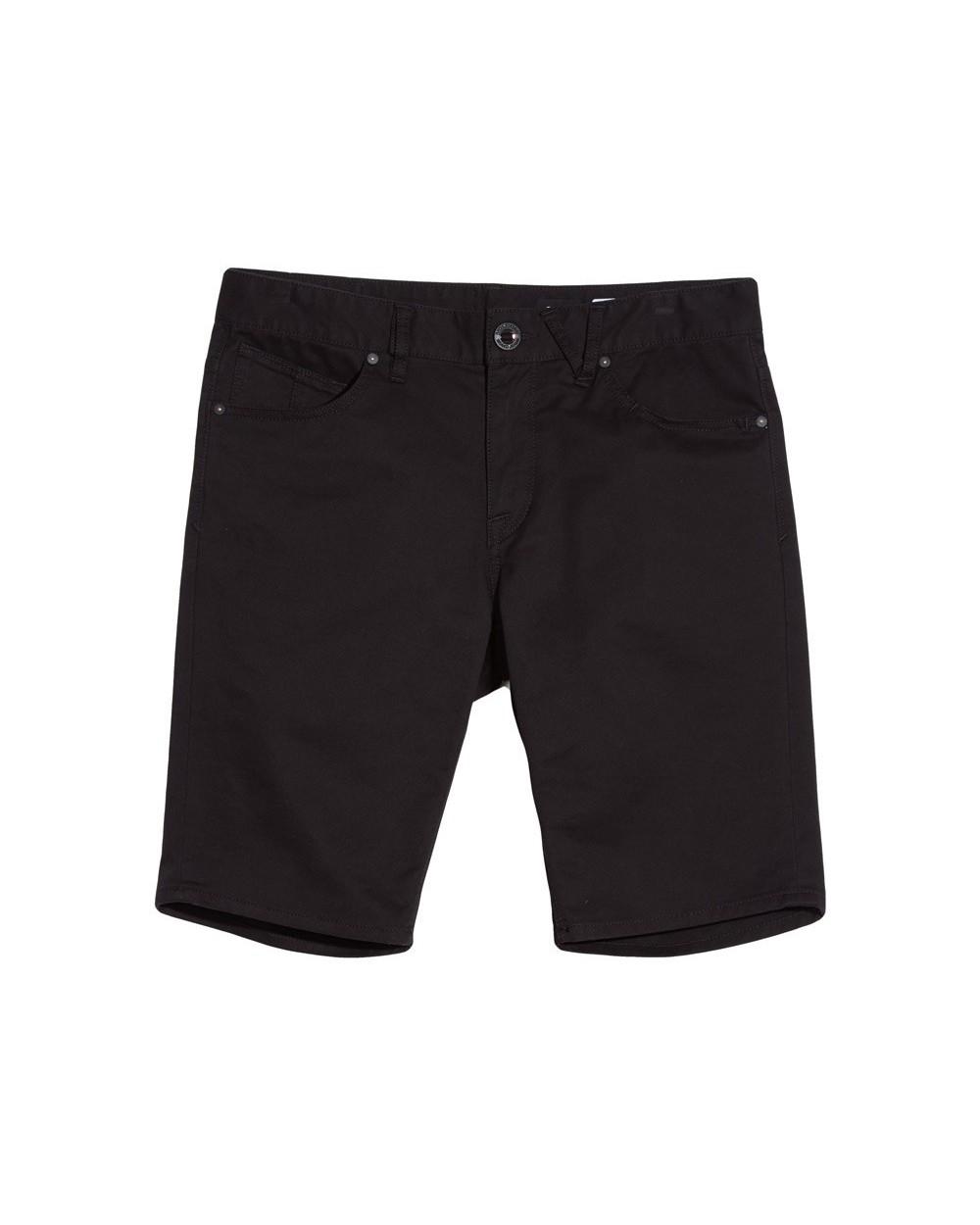 Volcom Solver Lite Twill Short - Black