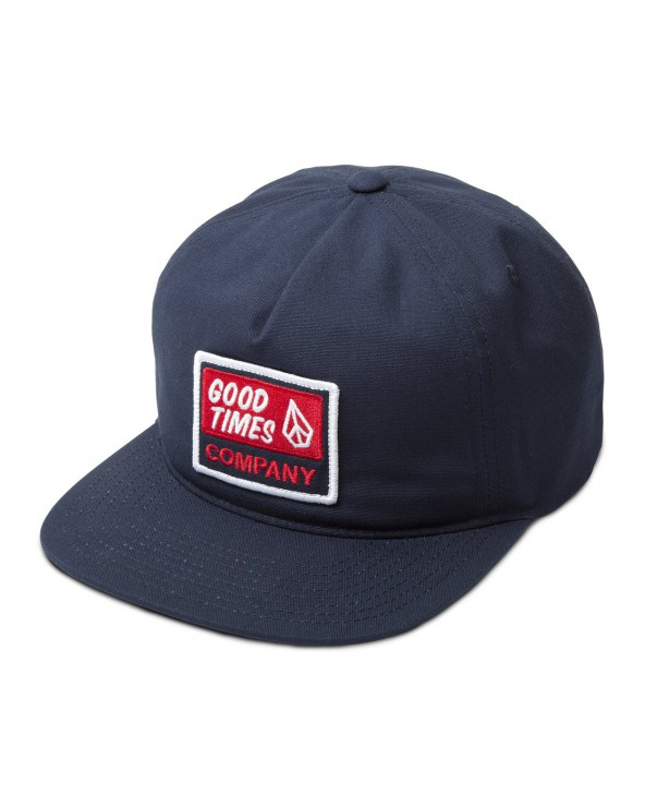 Volcom Righteous Cap - Indigo