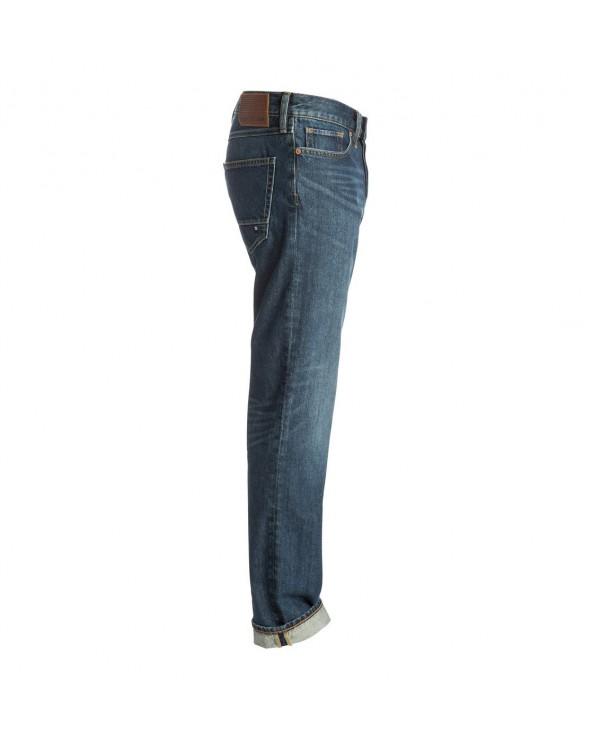 Dc Washed Dark Stone Rigid - Straight Fit Jeans - Dark Stone (btlw)