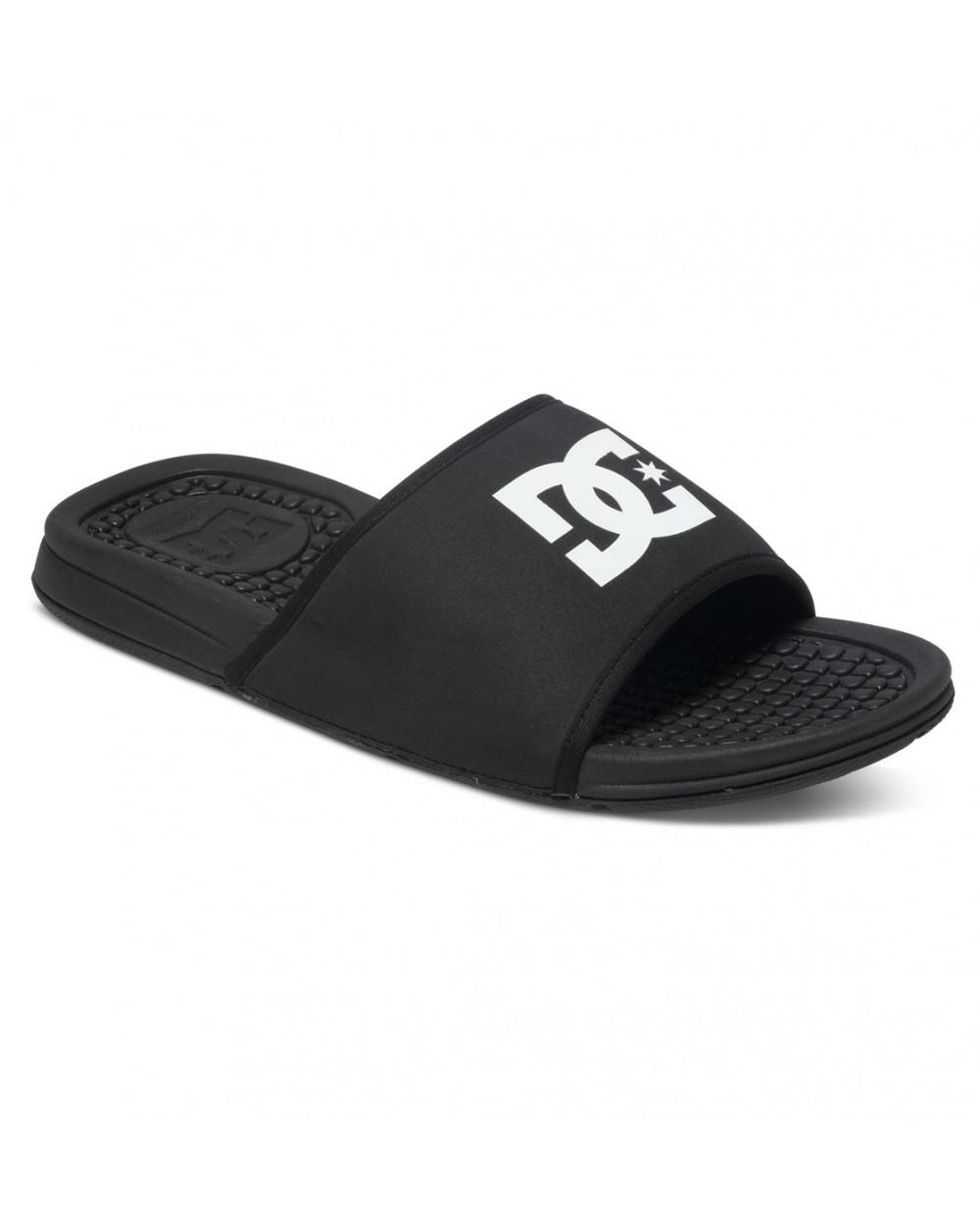 Dc Bolsa Slider Sandals - Black (blk)