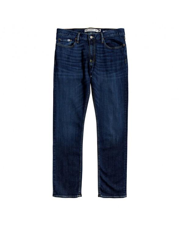 Dc Worker Straight Fit Jean - Medium Stone (bntw)
