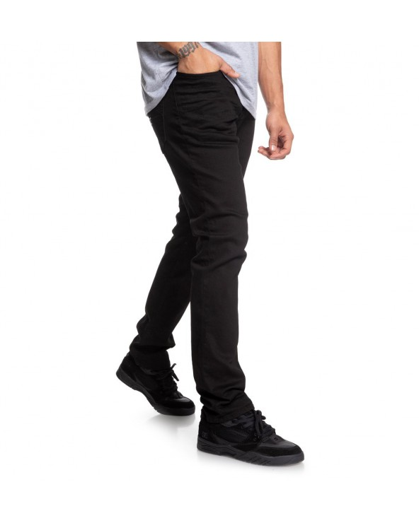 Dc Worker Straight Fit Jean - Black Rinse (kvjw)