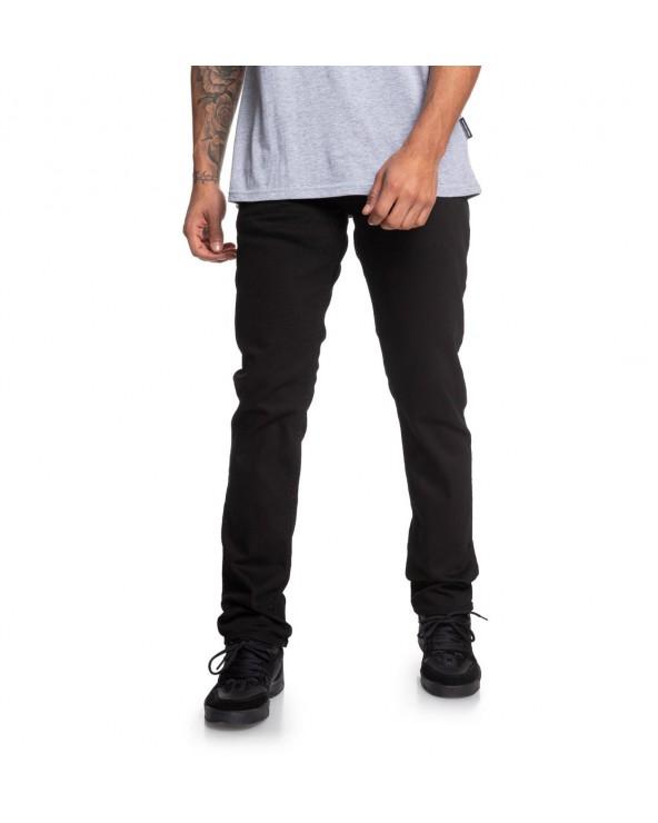 Dc Worker Straight Fit Jean - Black Rinse (kvjw)