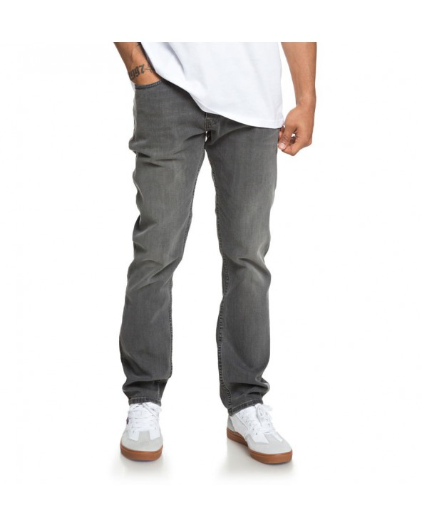 Dc Worker Slim Fit Jeans - Medium Grey (kpvw)