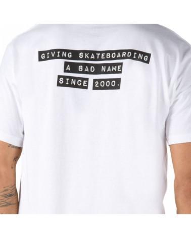 Vans X Baker Skateboarding Collection Tee - White