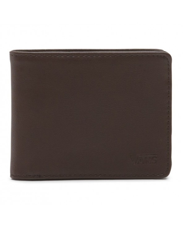 Vans Drop V Bifold Wallet - Dark Brown