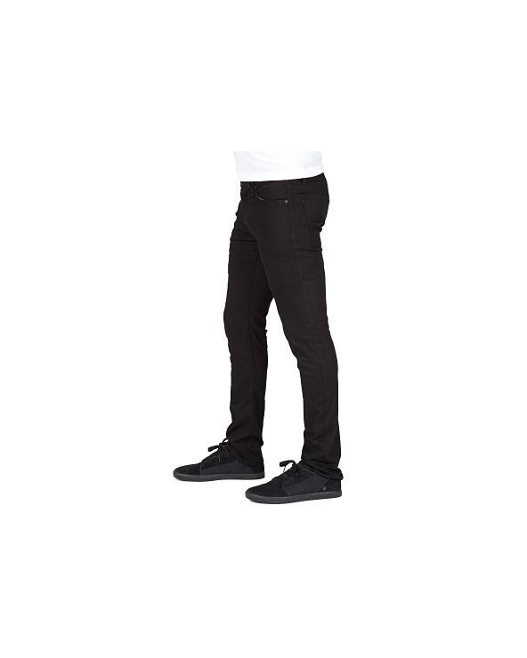 Volcom 2x4 Jean - Black on black (bkb)