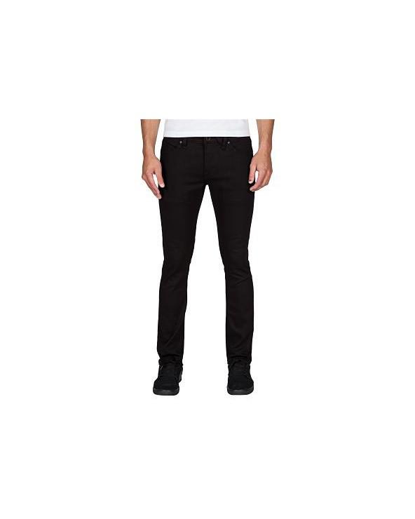 Volcom 2x4 Jean - Black on black (bkb)