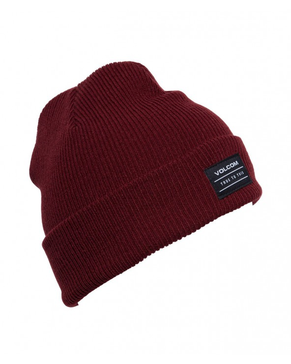 Volcom Knowledge Beanie - Cabernet