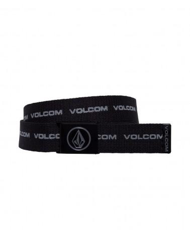 Volcom Circle Web Belt - Black Print