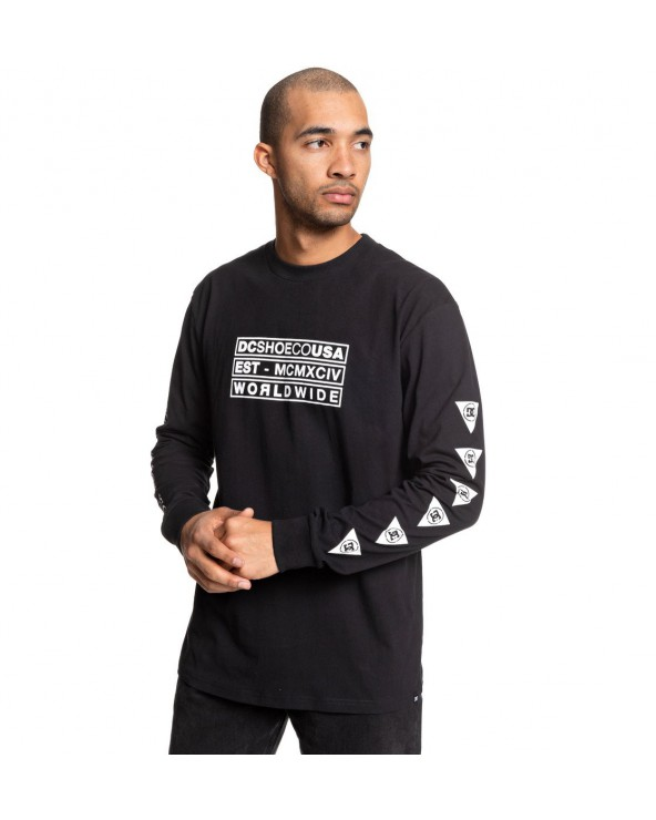 Dc Point Perspective Long Sleeve - Black