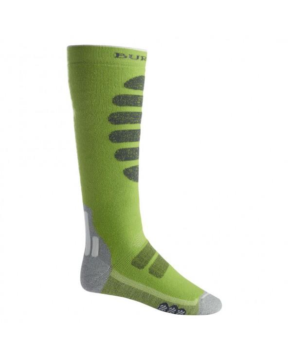 Burton Performance Midweight Snowboard Socks - Tender Shoots