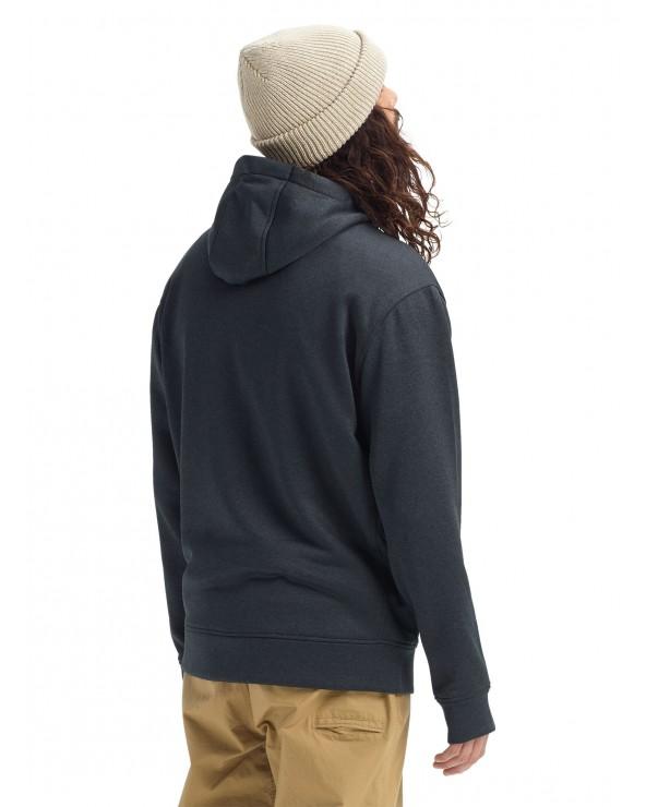 Burton Oak Full-Zip Hoodie - Mountain True Black Heather