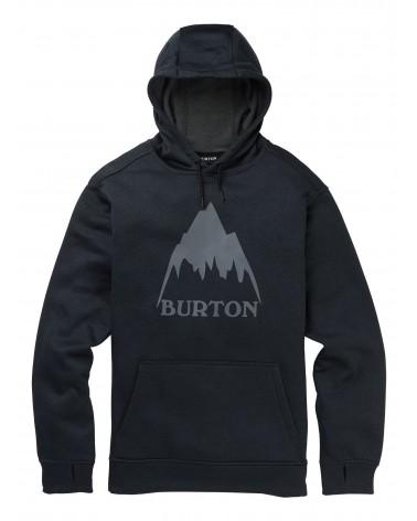 Burton Oak Hoodie - Mountain True Black Heather