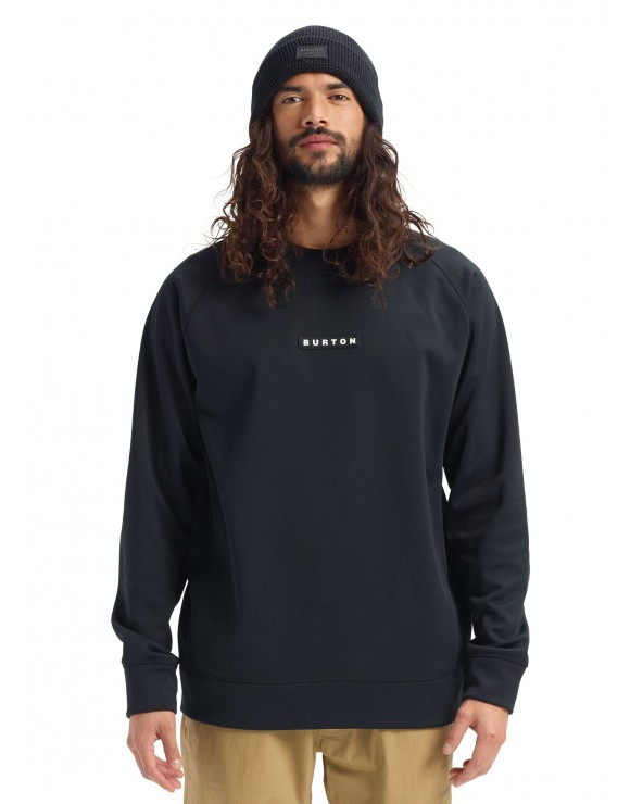 Burton Crown Bonded Technical Crew - True Black
