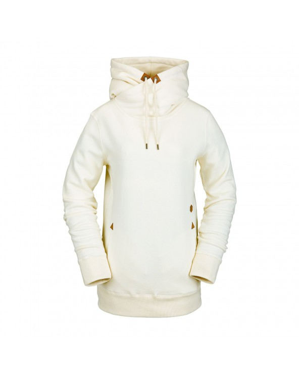 Volcom Snow Tower Pullover Hoodie - Bone