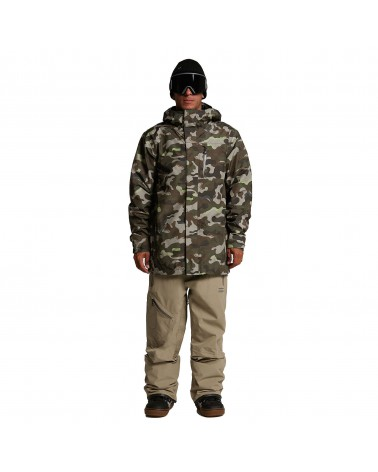 Volcom Snow L Insulated Gore-tex Jacket - Army