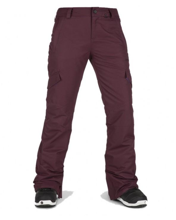 Volcom Snow Bridger Insulated Pant - Merlot