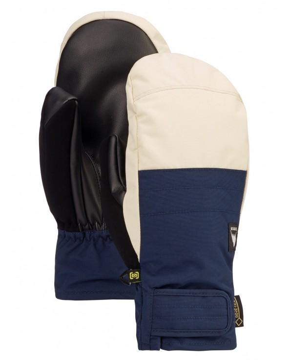 Burton Reverb GORE-TEX Mitten - Dress Blue / Almond Milk