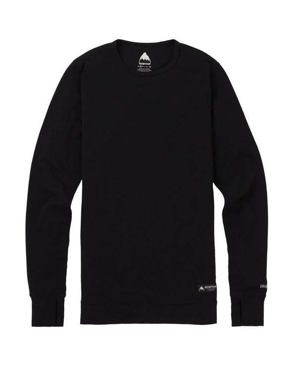 Burton Women's Midweight Base Layer Crew - True Black