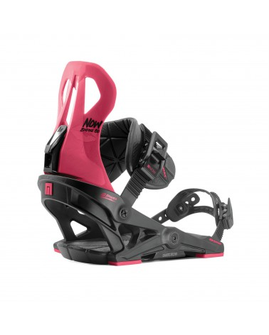 Now Brigada 2020 Bindings - Black / Pink
