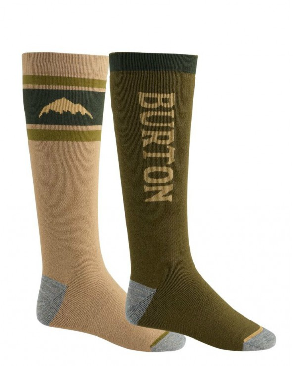 Burton Weekend Midweight 2 Pack Snowboard Socks - Keef