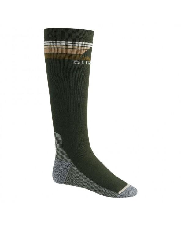 Burton Emblem Midweight Snowboard Socks - Forest Night