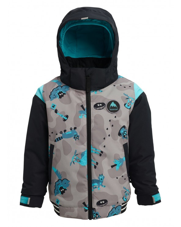 Burton Toddler Gameday Bomber Jacket - Hide and Seek / True Black
