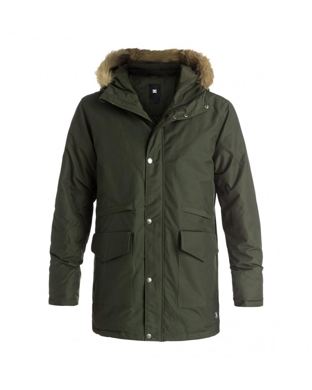 DC Bamburgh Jacket - DARK OLIVE (csn0)