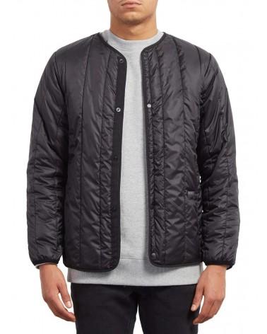Volcom Stoner Parka Jacket - Black (blk)