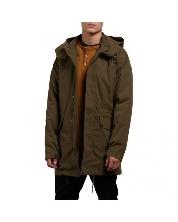 Volcom Stoner Parka Jacket - Military (mil)
