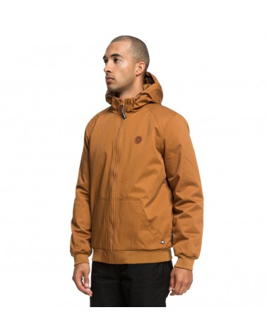 Dc Ellis - Water Resistant Hooded Jacket - Dc Wheat (nnw0)