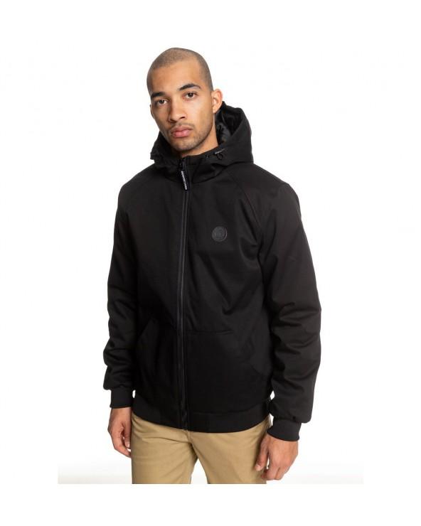 Dc Ellis Water Resistant Hooded Jacket - Black